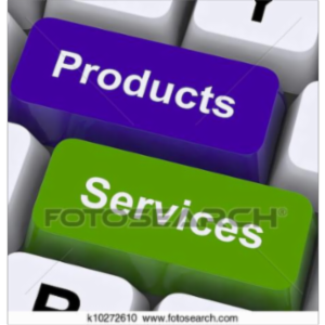 Creating Services and Products icon