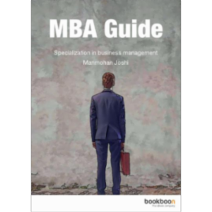 MBA Guide: Specialization in business management icon