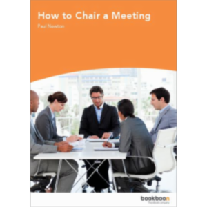 How to Chair a Meeting icon