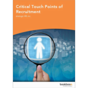 Critical Touch Points of Recruitment icon
