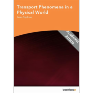 Transport Phenomena in a Physical World icon