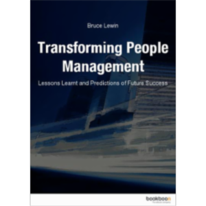 Transforming People - Management Lessons Learnt and Predictions of Future Success icon