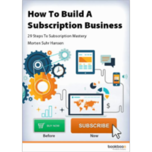 How To Build A Subscription Business -  29 Steps To Subscription Mastery icon