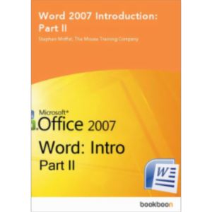 Word 2007 Introduction: Part II icon