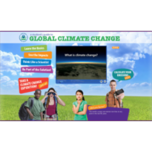 Climate Change Kids Site icon