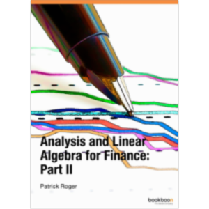 Analysis and Linear Algebra for Finance: Part II icon