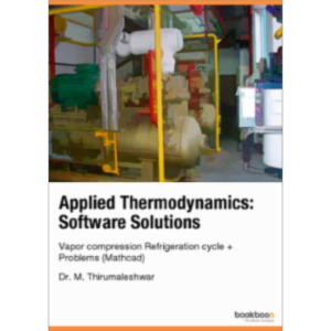 Applied Thermodynamics: Software Solutions Vapor compression Refrigeration cycle + Problems (Mathcad) icon