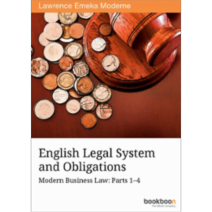 English Legal System and Obligations Modern Business Law: Parts 1–4 icon