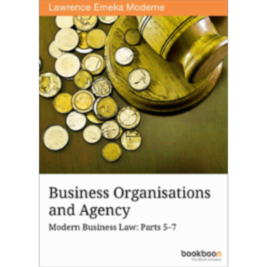 Business Organisations and Agency Modern Business Law: Parts 5–7 icon
