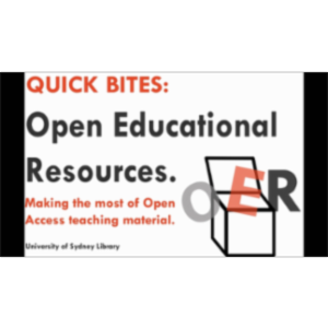 Open Educational Resources icon