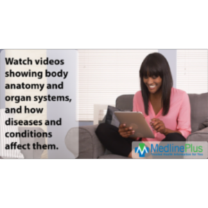 Health Videos: MedlinePlus icon