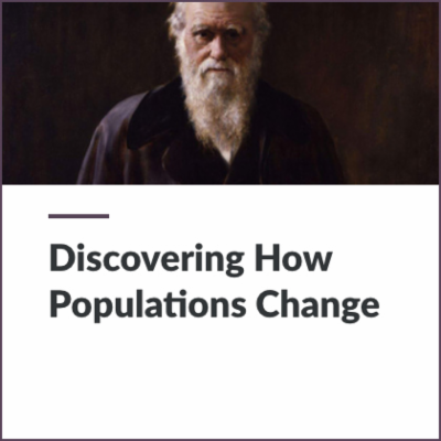 Digital Lesson - Discovering How Populations Change | Blending Education icon