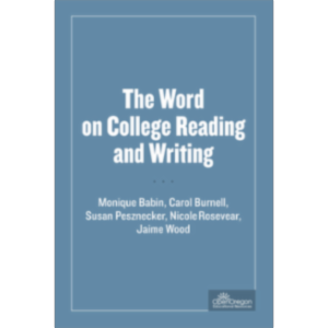 The Word on College Reading and Writing icon