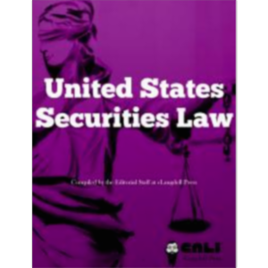 United States Securities Law icon