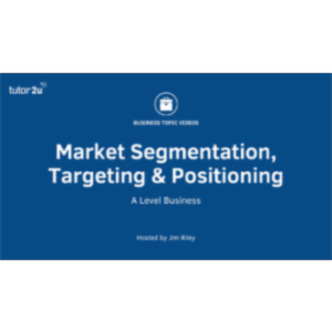 Marketing: Segmentation - Targeting - Positioning icon