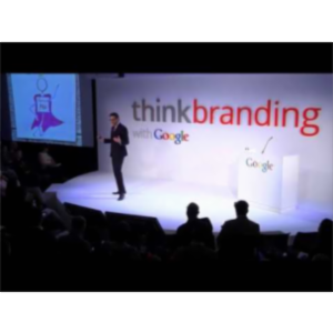 Think Branding, with Google icon