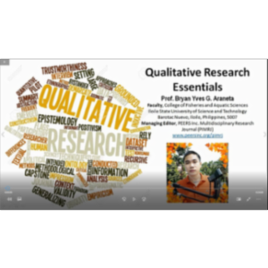 Qualitative Research Essentials icon