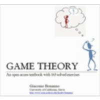 Game Theory: An open access textbook with 165 solved exercises icon