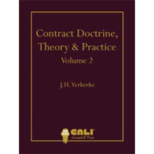Contract Doctrine, Theory & Practice - Volume 2 icon
