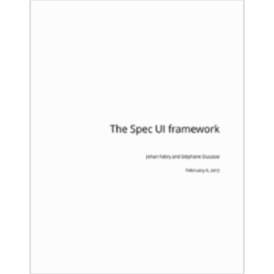 The Spec UI framework icon