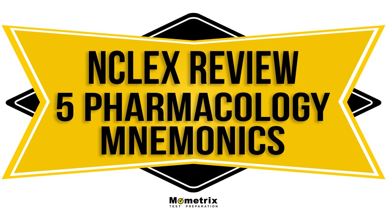 Top 5 NCLEX Pharmacology Review Mnemonics | NCLEX Review 2018 icon