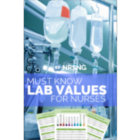 The Ultimate Nursing NCLEX® Lab Values Study Guide | NRSNG icon