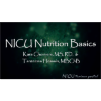 NICU Nutrition Basics - YouTube icon