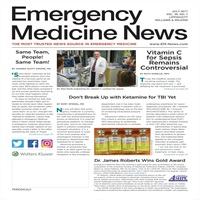 News: Vitamin C for Sepsis Remains Controversial : Emergency Medicine News