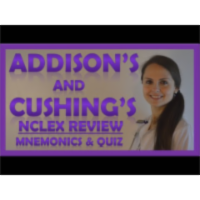Cushings Disease versus Addisons Disease-Nursing icon