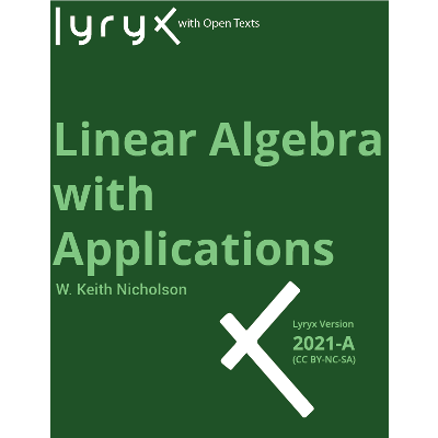 Review: Linear Algebra with Applications