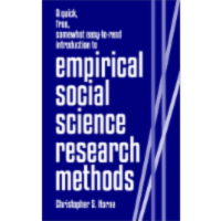 A quick, free, somewhat easy-to-read introduction to empirical social science research methods icon