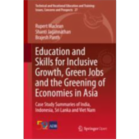 Education and Skills for Inclusive Growth, Green Jobs and the Greening of Economies in Asia	 | SpringerLink icon