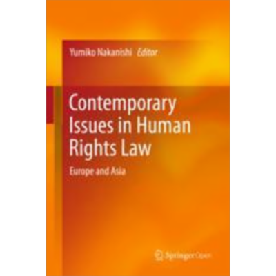Contemporary Issues in Human Rights Law | SpringerLink icon