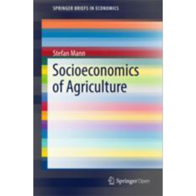 Socioeconomics of Agriculture | SpringerLink icon