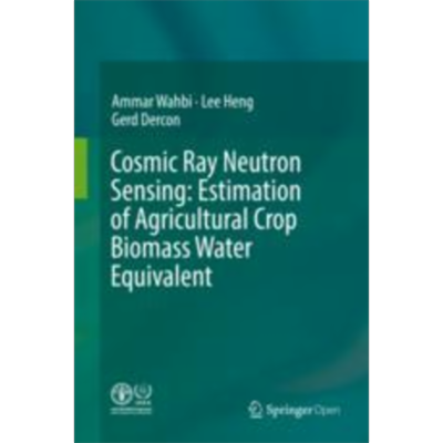 Cosmic Ray Neutron Sensing:  Estimation of Agricultural Crop Biomass Water Equivalent | SpringerLink icon