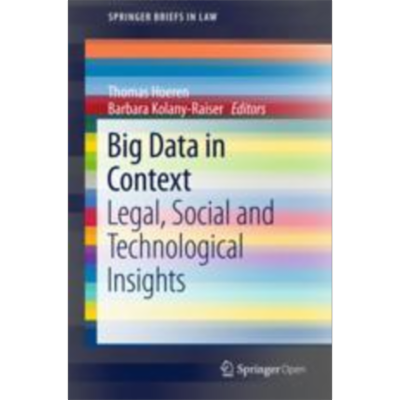 Big Data in Context | SpringerLink icon