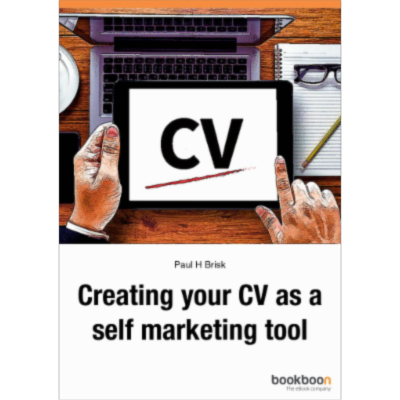 Creating your CV as a self marketing tool icon