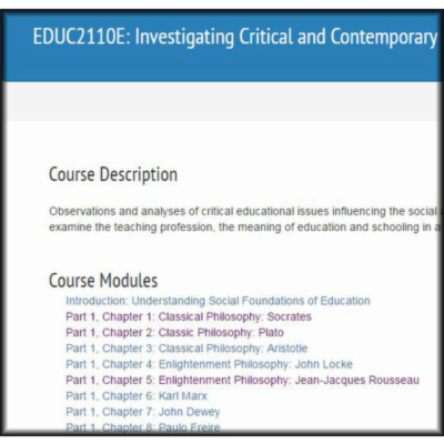 OpenEDUC: Investigating Critical and Contemporary Issues in Education icon