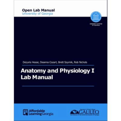 UGA Anatomy and Physiology 1 Lab Manual icon
