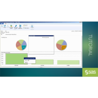 Opening a SAS® Visual Analytics Report in Microsoft Outlook icon