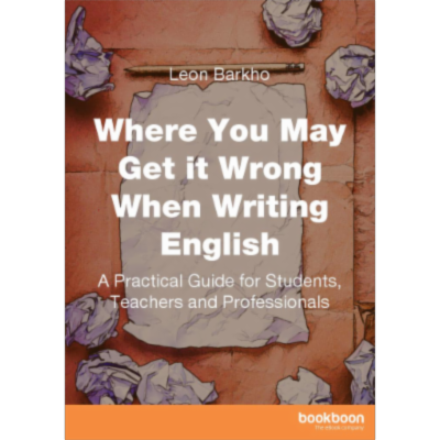 Where You May Get it Wrong When Writing English -  A Practical Guide for Students, Teachers and Professionals icon