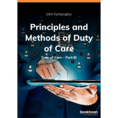 Principles and Methods of Duty of Care Duty of Care - Part III