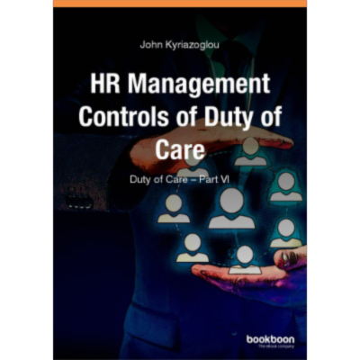 HR Management Controls of Duty of Care Duty of Care - Part VI icon