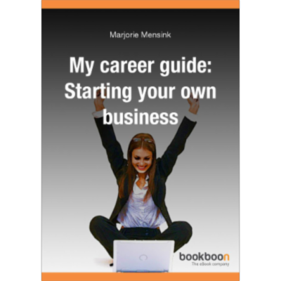 My career guide: Starting your own business icon