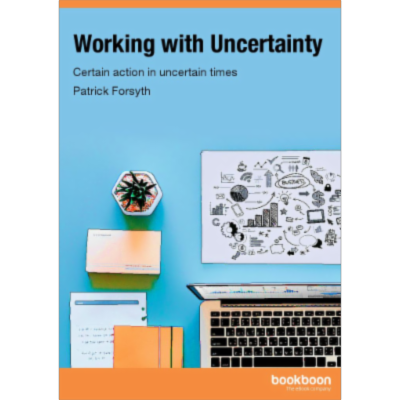 Working with Uncertainty - Certain action in uncertain times icon