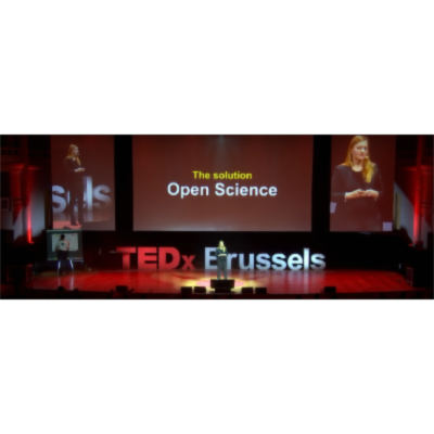 TEDxBrussels:  Open Science can save the planet