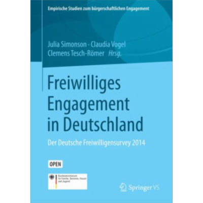 Freiwilliges Engagement in Deutschland | SpringerLink