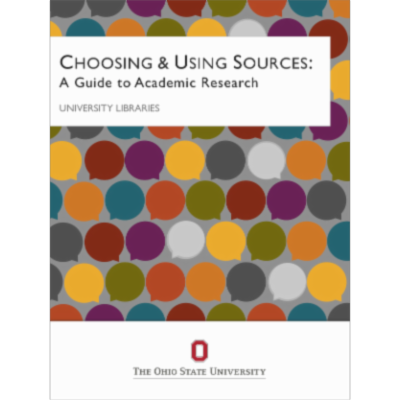 Choosing & Using Sources: A Guide to Academic Research icon