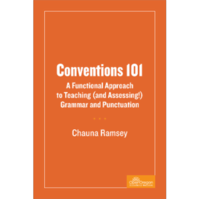 Conventions 101: A Functional Approach to Teaching (and Assessing!) Grammar and Punctuation – Simple Book Production icon