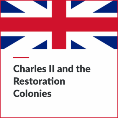 MICRO - Charles II and the Restoration Colonies [FREE] | Blending Education icon